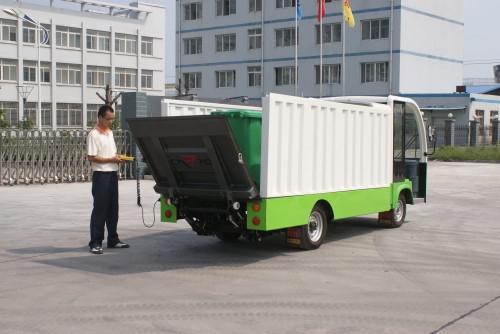 6桶垃圾转运车