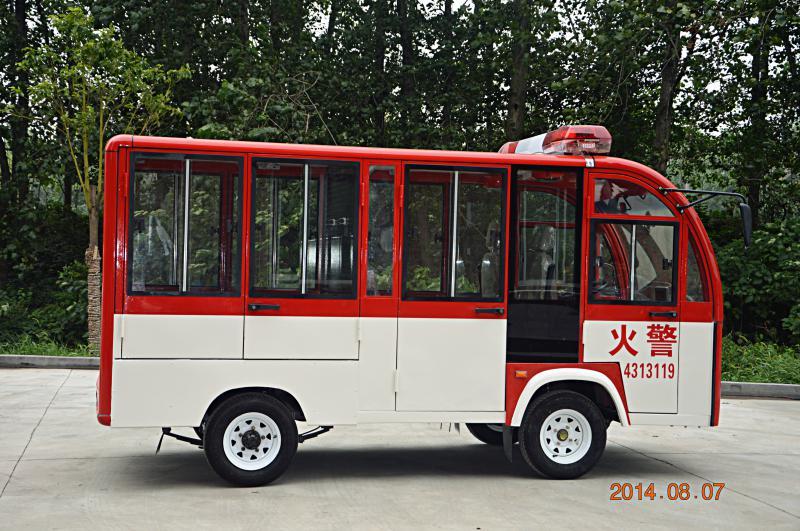 单排封闭电动消防车(XF1  H24-XFM)