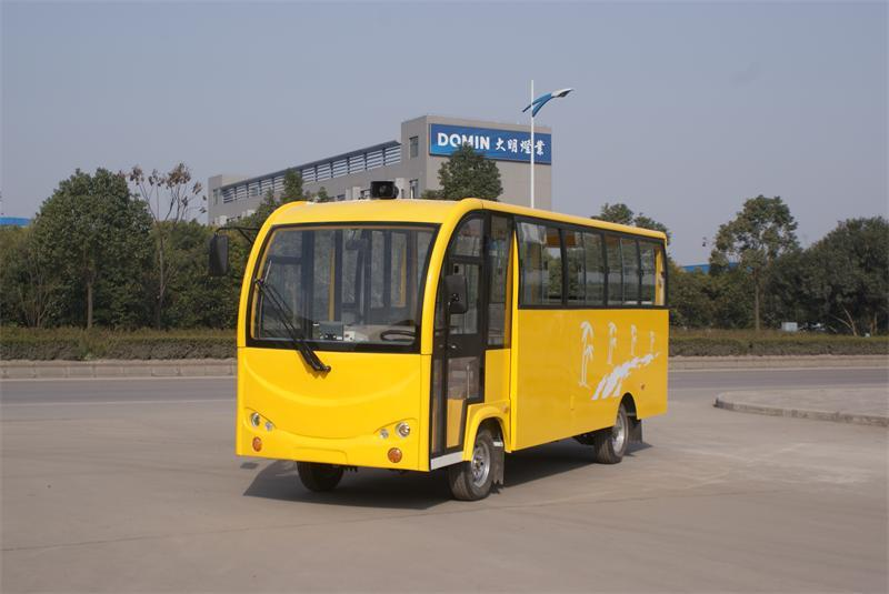 老式22座电动运营车(对面坐)
